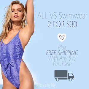 ❤️ ALL VICTORIA'S SECRET SWIM – 2 for $30! ❤️